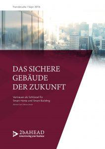 """Smart Building Trendstudie: """"Das sichere Gebäude der Zukunft"""""""